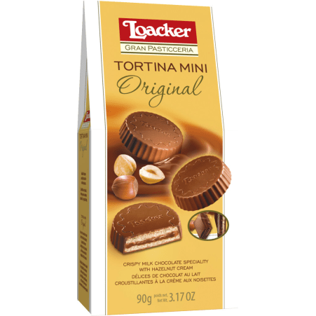Loacker Gran Pasticceria Tortina Original Mini