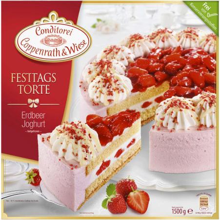 Conditorei Coppenrath & Wiese Festtagstorte Joghurt-Erdbeer