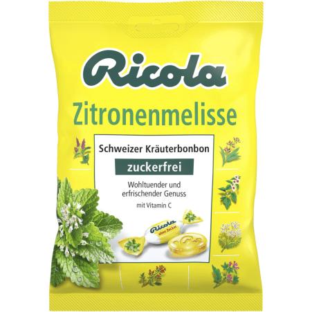 Ricola Kräuterbonbon Zitronenmelisse 75 gr