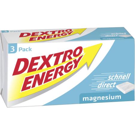 Dextro Energy Traubenzucker Magnesium 3er-Packung