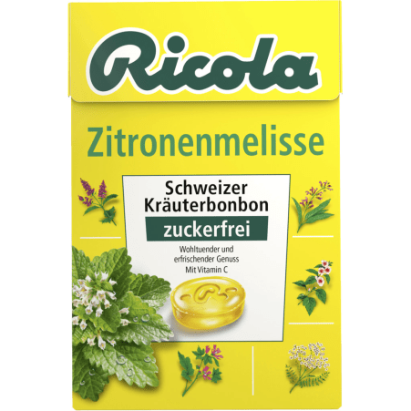 Ricola Kräuterbonbon Zitronenmelisse 50 gr