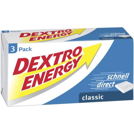 Dextro Energy Traubenzucker Classic 3er-Packung