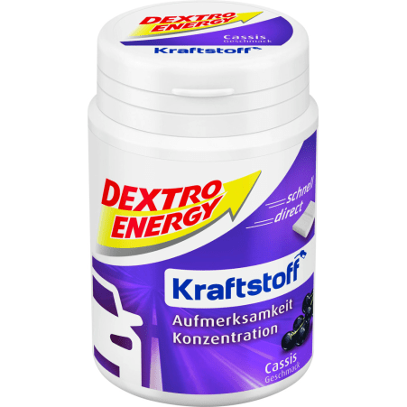 Dextro Energy Kraftstoff Traubenzucker Cassis