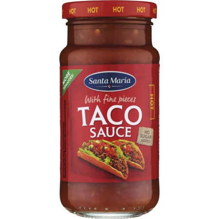 Santa Maria Taco Sauce hot