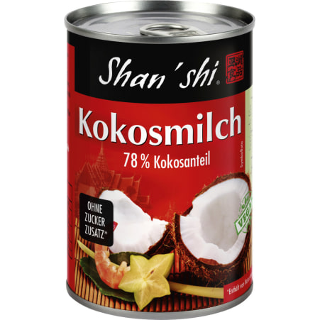 Shan´shi Kokosmilch 0,4 Liter