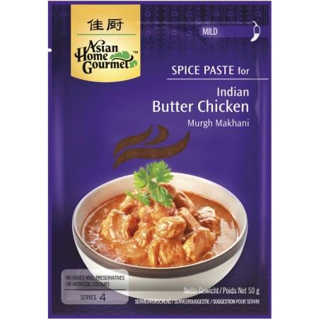 ASIAN HOME GOURMET Indian Butter Chicken Makhani