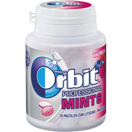 ORBIT Orbit Professional Mints Forest Fruit Bottle