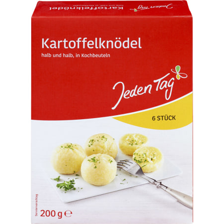 Jeden Tag Kartoffelknödel im Kochbeutel 6er-Packung