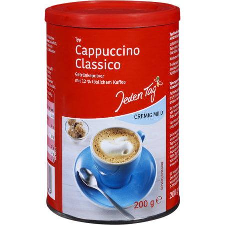 Jeden Tag Cappuccino Pulver Classic