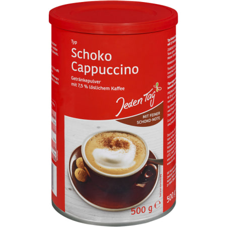 Jeden Tag Cappuccino Pulver Schoko