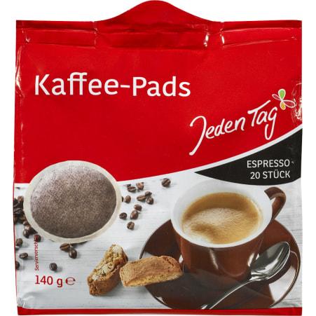 Jeden Tag Kaffee Espresso 20 Pads