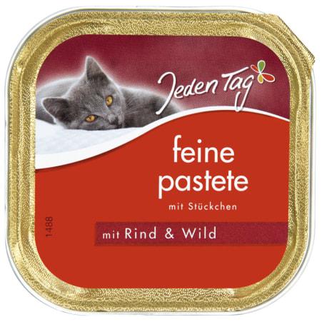 Jeden Tag Feine Pastete mit Rind & Wild