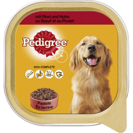 PEDIGREE Hundenahrung Rind & Huhn