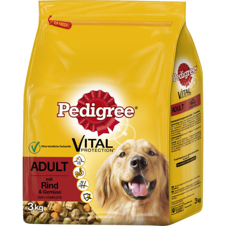 PEDIGREE Hundetrockennahrung Adult Rind