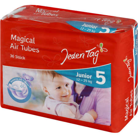 Jeden Tag Baby Windeln Junior 12-25 kg