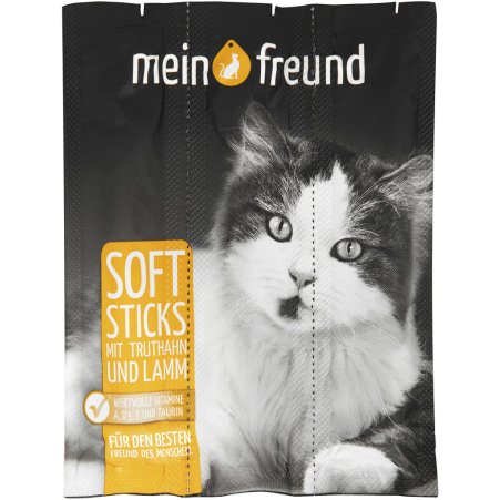 Mein Freund Softsticks Truthahn & Lamm 3er-Packung