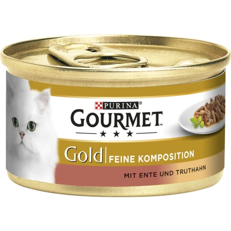 PURINA Gourmet Gold Feine Komposition Ente & Truthahn