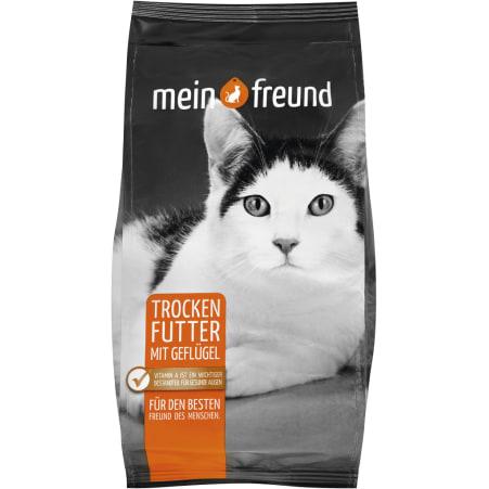 Mein Freund Katzentrockennahrung mit Geflügel Sensitiv