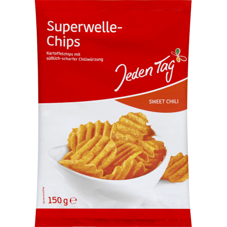 Jeden Tag Chips Superwelle Sweet Chili