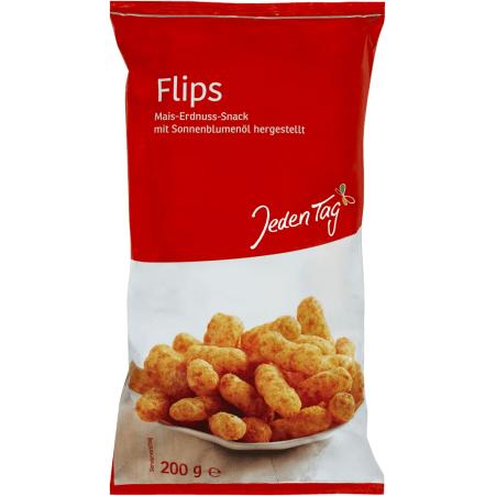 Jeden Tag Erdnuss-Flips