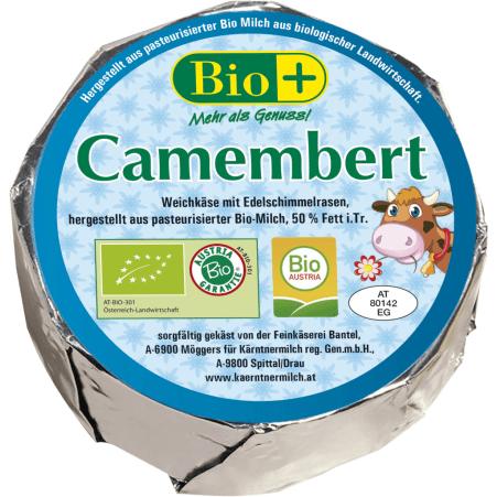 Kärntnermilch Bio Camembert 45%