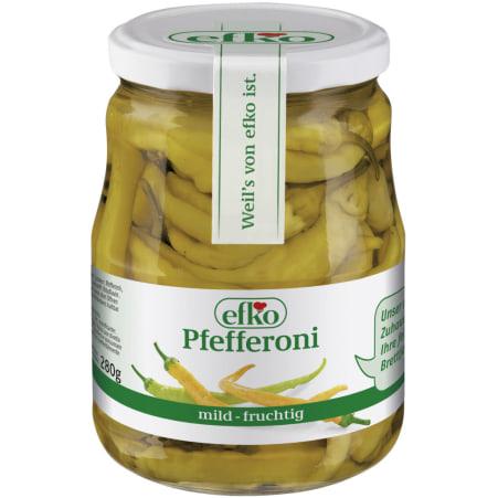 efko Pfefferoni mild 600 gr
