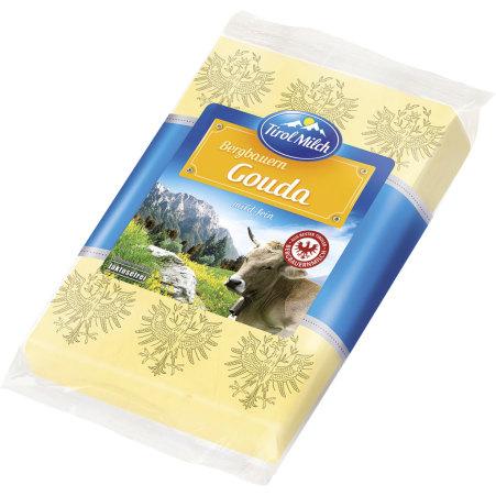 Tirol Milch Bergbauern Gouda mild fein 45% 250 gr