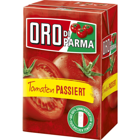 Hengstenberg Oro di Parma Tomaten passiert