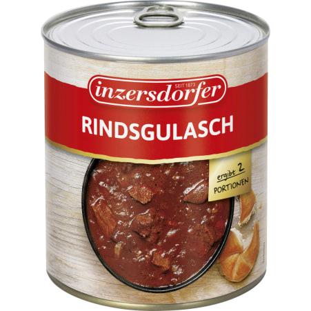 Inzersdorfer Rindsgulasch 800 gr