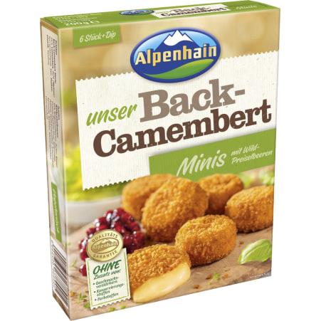 Alpenhain Leckerbissen Back-Camembert Minis