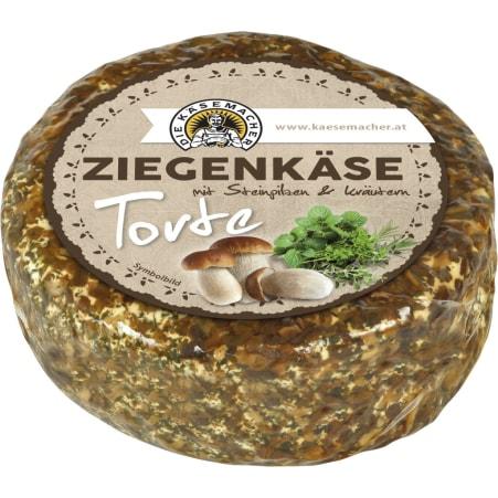 Die Käsemacher Ziegenkäsetorte Steinpilz Kräuter