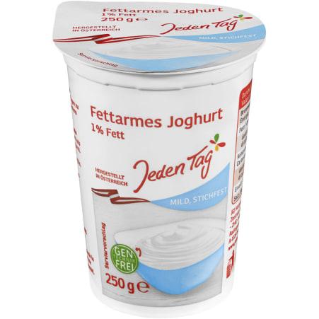 Jeden Tag Naturjoghurt fettarm 1%