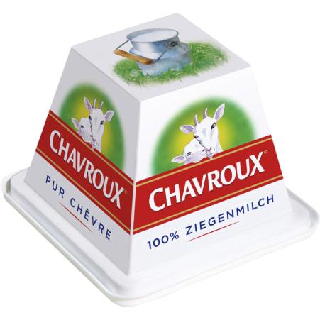 CHAVROUX Ziegenfrischkäse Natur 45%
