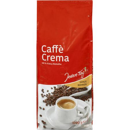 Jeden Tag Cafe Crema ganze Bohne