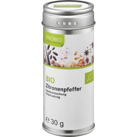 PROBIO Bio Zitronenpfeffer gemahlen grob