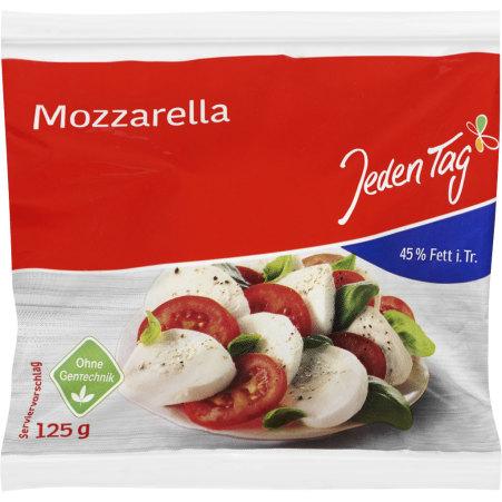 Jeden Tag Mozzarella