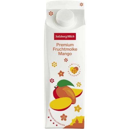 SalzburgMilch Premium Fruchtmolke Mango