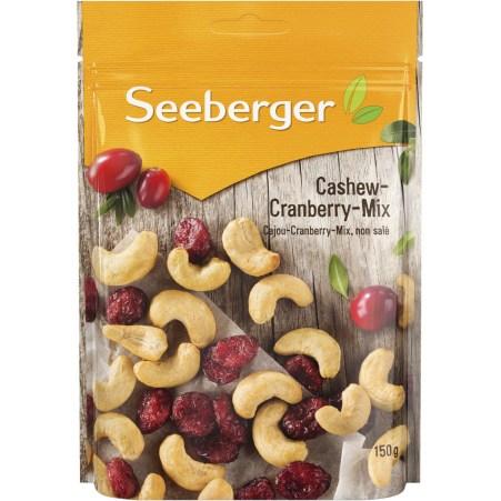 Seeberger Cashew-Cranberry-Mix