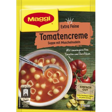 MAGGI Extra Feine Tomatencremesuppe