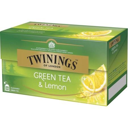 Twinings of London Green Tea and Lemon