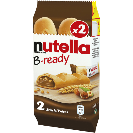 Nutella Nutella B-ready 2er-Packung