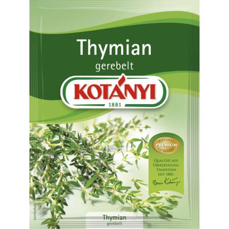 Kotányi Thymian gerebelt