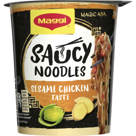MAGGI Magic Asia Saucy Noodles Sesame Chicken Taste