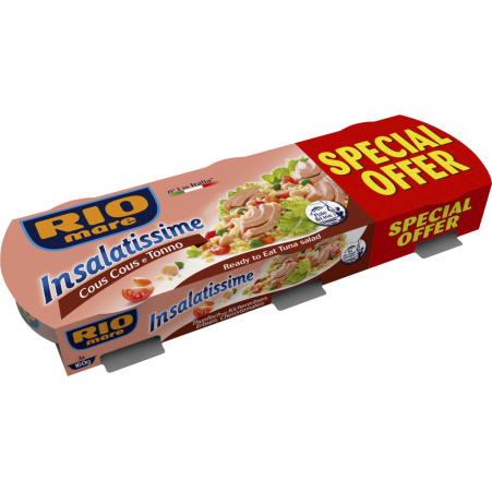 Rio Mare Insalatissime CousCous 3er-Packung