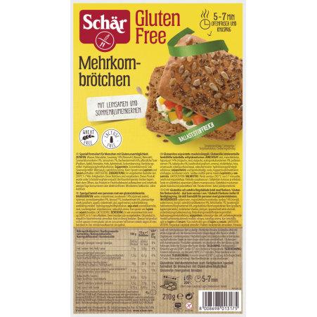 Schär Mehrkornbrötchen  glutenfrei