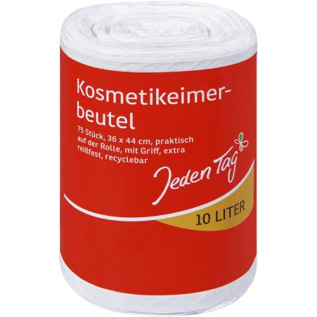 Jeden Tag Kosmetikeimer-Beutel 10 Liter