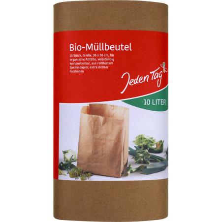 Jeden Tag Bio-Müllbeutel 10 Liter