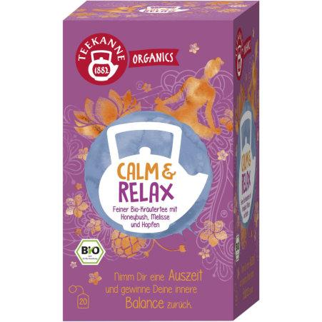 TEEKANNE Bio Organics Calm and Relax