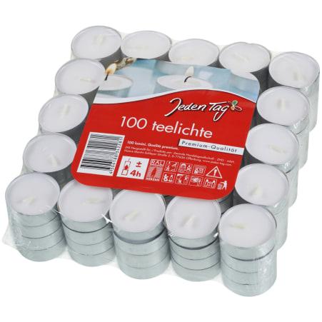 Jeden Tag Teelichter 100er-Packung