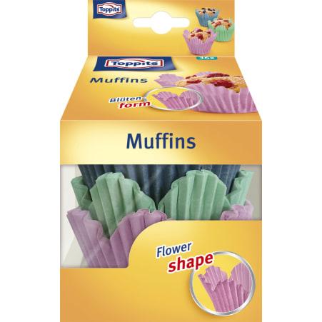 TOPPITS Flowershape Muffinsformen